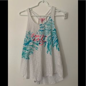 """Follow me to the sea"" Lilly Pulitzer tank"
